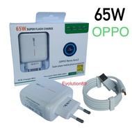 Vooc Oppo Reno Ace 2 Charger Super Fast Charging 65w Type C Original