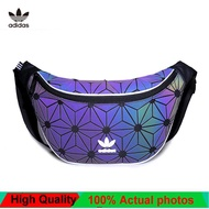 100%OriginalUnisex Fashion Adidas_3D Mesh Issey Miyake_Unisex Sling Waist Chest Bag