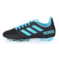 ADIDAS 兒童足球鞋 PREDATOR 19.4 FxG J 黑水藍