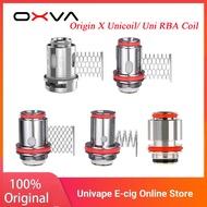 ใหม่Original OXVAต้นกำเนิดX Unicoil/Uni RBA COILสำหรับOXVAต้นกำเนิดXชุด & Dual-COIL Building 0.2/0.3/0.5/0.6/1.0 OHM E-cigขดลวด