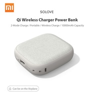 Xiaomi 10000mAh Qi Wireless Charger Power Bank USB Powerbank