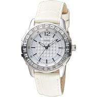 GUESS 典雅麗緻時尚晶鑽仕女錶-銀白(GWW0019L1)