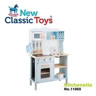 【New Classic Toys】聲光小主廚木製廚房玩具(含配件12件)(11065)