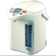 象印 日本原裝 4 L 微電腦 電動給水 熱水瓶 CD-LGF40(WG/TK) 二手 象印 熱水瓶 CD-LGF