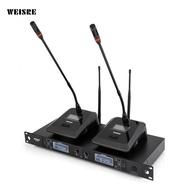 WEISRE U - 6002 Wireless UHF Microphone System