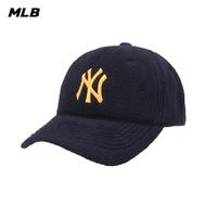 【MLB】毛絨棒球帽 可調整式 帽子 紐約洋基隊(32CP69011-50N)