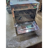 stainless gas oven..