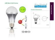 CELEX - 10個 x 太陽系列 LED 燈泡 10W 3000K 暖黃光 大螺頭 E27