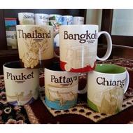 泰國限定款🇹🇭星巴克泰國城市杯 城市馬克杯 Starbucks