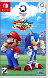 現貨  Switch NS 瑪利歐&索尼克 AT 東京奧運《中文版》【AS電玩】