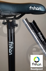 Fnhon Fnhon Foldable Bike Seatpost 33.9mm Ghayu -@ Freedom Folding Bicycle Seat - @ Storm & @ Blast - Black