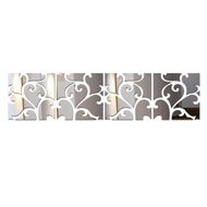 New Diy Wall Stickers Home Decor Europe Acrylic Mirror Sticker Adesivo De Parede Vinilos Paredes Pattern Butterfly Horse