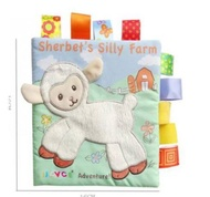 Soft Fabric Book kids Story Books Animal Book Baby Soft Cloth Book Children Soft Book Buku Kain Budak Buku Belajar Budak