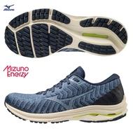 【領券再9折】MIZUNO WAVE RIDER 24 WAVEKNIT 男鞋 慢跑 避震 柔軟 耐磨 藍【運動世界】J1GC207520