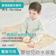 【i-Smart】嬰幼兒防水尿墊 70x103cm(遊戲床專用)