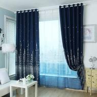 ผ้าม่านหน้าต่าง ลายดอกไม้ ผ้าม่านประตู ผ้าม่านสำเร็จรูป ผ้าม่านเจาะตาไก่ ผ้าม่านกันUV ได้ 100%