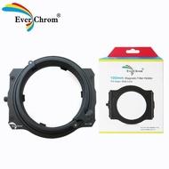 【EverChrom 彩宣】O-100方形濾鏡磁吸支架適用Olympus ED 7-14mm f2.8 PRO鏡頭─內附磁鐵框
