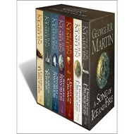 GAME OF THRONES, A: THE STORY CONTINUES: THE COMPLETE BOX SET OF ALL 7 BOOKS