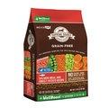 美國紐健士.低敏無穀天然犬糧《鮭魚+蔬果 22磅》唯一添加WellBoost有 機褐藻狗飼料 小顆粒