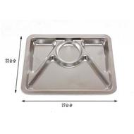 ♈叮叮♈蝴蝶牌304不銹鋼四格小餐盤  台灣製造