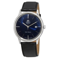 Orient 2nd Generation Bambino Men's Automatic Black Leather Strap Watch - FAC0000DD0