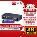 PX大通HA2-112SA HDMI高清音源轉換器hdmi spdif高畫質轉光纖+3.5mm音頻音源分離器4K 60 fps