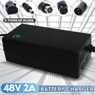48V 2A Lithium Battery Charger 54.6V 2A Charger Input AC 100-240V Lithium Li-ion Battery Charger For