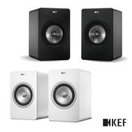 【限時下殺$25990】KEF 英國 X300A Wireless 無線Hi-Fi喇叭 主動式同軸書架喇叭 黑色/白色