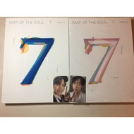 BTS防彈少年團 Map of the soul 7 空專 海報 預購小禮