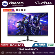 ViewPlus MH-24 24 Inches 75Hz Vesa Mounting, HKD Screen VGA and HDMI Cable IPS Display Monitor