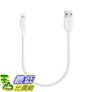 [106美國直購] Anker AK-848061064346 PowerLine II (1ft) 充電線傳輸線 Dura Lightning Cable MFi Certified for iPhone 7 Plus