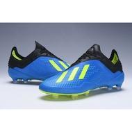 Original Adidas X 18.1 FG Soccer shoes With Tote bag