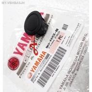 R155 R15 VVA 2019 V3 R15 COVER 2 CAP REAR SEAT CUSHION TANDEM (YAMAHA100-ORIGINAL) BK6-F475X-00 PENUTUP LOCK NUT PLASTIC
