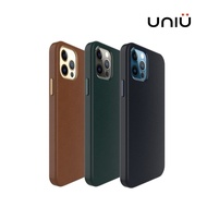 UNIU iPhone 13 12 mini Pro Pro Max CUERO 全包皮革保護殼 皮革防摔殼 手機保護套