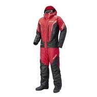 🔥【平昇釣具】🔥SHIMANO RB-119R 黑色/紅色 防寒保暖釣魚服套裝 防寒套裝 釣魚套裝 全新品