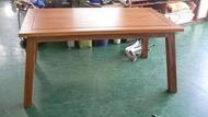 連冠二手家具 TK805 狄卡斯柚木餐桌 庫存貨 洽談桌 會議桌 實木桌