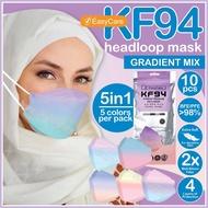 KF94 MASK HEADLOOP【𝗦𝗵𝗶𝗽 𝟮𝟰𝗝𝗮𝗺】4ply Face Mask【Easy Care】 Head Loop k94 mask headloop KF94 Hijab 3D Mask Korea facemasks