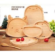 【全新】丹丹漢堡 限量 Q版 動物造型木盤 鹿拉拉 木餐盤 置物盤 盤子 野餐