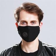 防霧霾呼吸閥pm2.5口罩含濾片 黑色