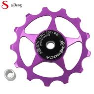 11T/13T Aluminium Alloy MTB Sepeda Gunung Sepeda Belakang Derailleur Pulley Jockey Roda Peta Sepeda Panduan Roller untuk 7/8/9/10 Kecepatan