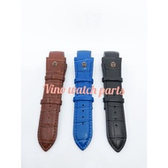Aigner Palermo Leather Strap Watch Strap Aigner Leather Watch Strap