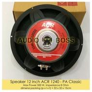 Speaker 12 inch ACR 1240 - PA Classic Speaker ACR 1240 12 inch - PA