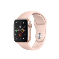 Apple Watch Series 5 Gold Aluminum Case with Sport Band Pink Sand 40mm GPS + Cellular