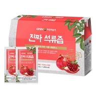 🇹🇼台韓夫婦🇰🇷大哥雜貨店 韓國GNM自然的品格 西班牙產紅石榴 純的紅石榴汁 70ml*10入/盒