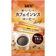 UCC , delicious decaf coffee , instant coffee , stick type , 7 pieces