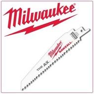 "【Milwaukee 美沃奇】6""軍刀鋸片組/木工專用/5入(48-00-5021)"