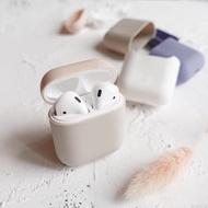 超好看配色airpods保護套蘋果無線藍芽2代耳機盒airpod液態硅膠套