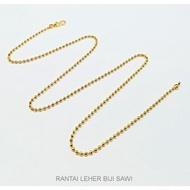 EMAS 916 - RANTAI LEHER BIJI SAWI