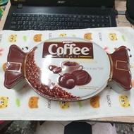 土耳其Tayas 咖啡夾心糖/水果牛奶夾心糖,600克鐵盒裝