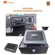 MA AUDIO 6X9 ACTIVE SUBWOOFER 600W